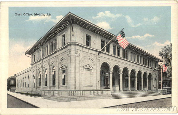 Post Office Mobile Alabama