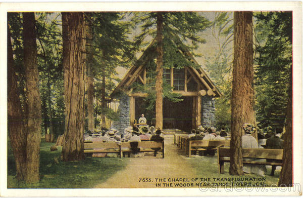 The Chapel Of the Transfiguration In The Woods Tahoe Tavern California