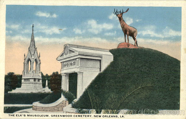 The Elk's Mausoleum, Greenwood Cemetry New Orleans Louisiana