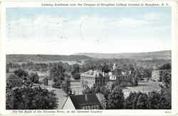 Looking Southeast Over The Campus Of Houghton College