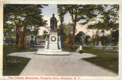 The Lincoln Monument, Prospect Park