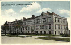 Biology Building, University Of Missouri Postcard
