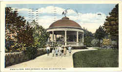 Pavilion And Entrance To Zoo