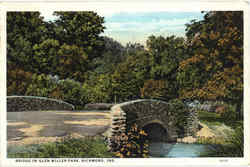 Bridge In Glen Miller Park
