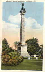 Kentucky State Monument Postcard