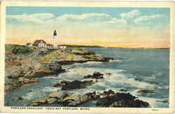 Portland Headlight, Casco Bay