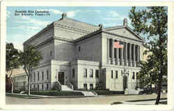 Scottish Rite Cathedral Postcard