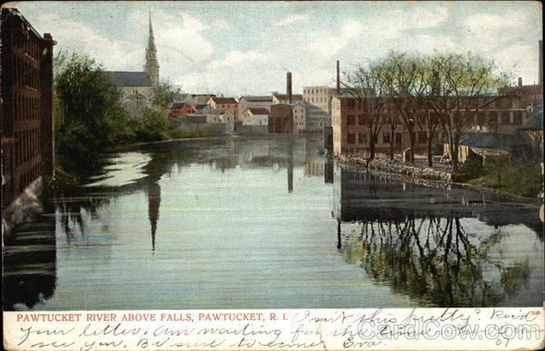 Pawtucket River Above Falls Rhode Island