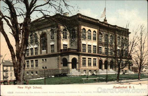 New High School Pawtucket Rhode Island