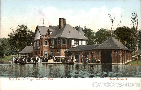 Roger Williams Park - Boat House Providence Rhode Island