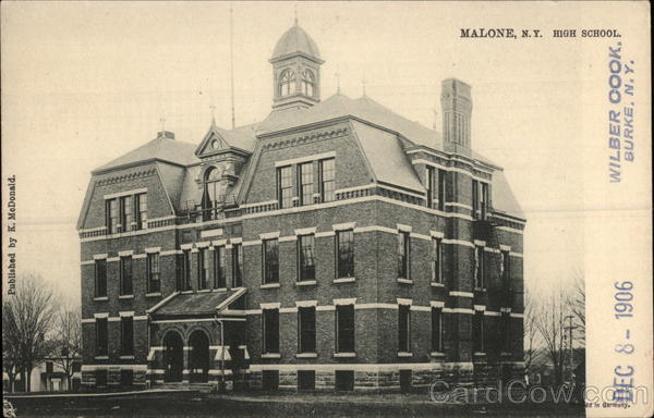 High School Malone New York
