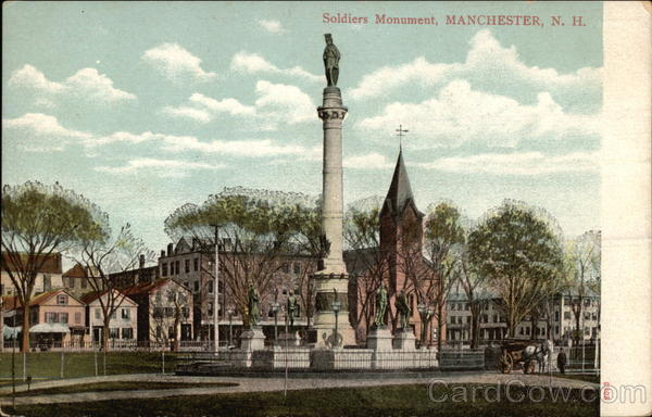 Soldiers Monument and Grounds Manchester New Hampshire