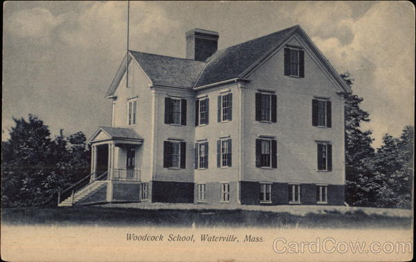 Woodcock School Waterville Massachusetts