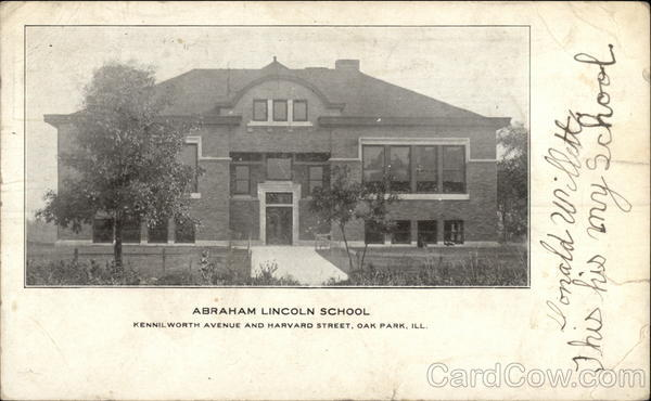 Abraham Lincoln School Oak Park Illinois