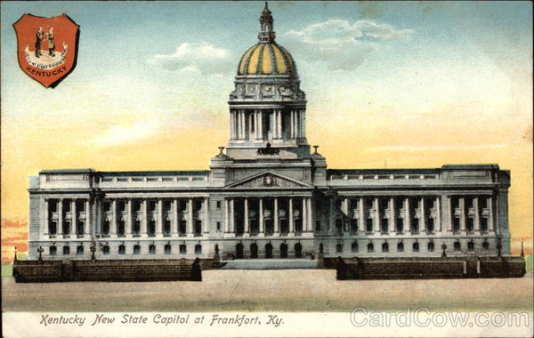 Kentucky New State Capitol Frankfort