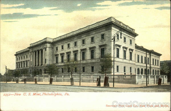 New U. S. Mint Philadelphia Pennsylvania