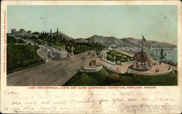 Lake View Terrace 1905 Lewis & Clark Exposition