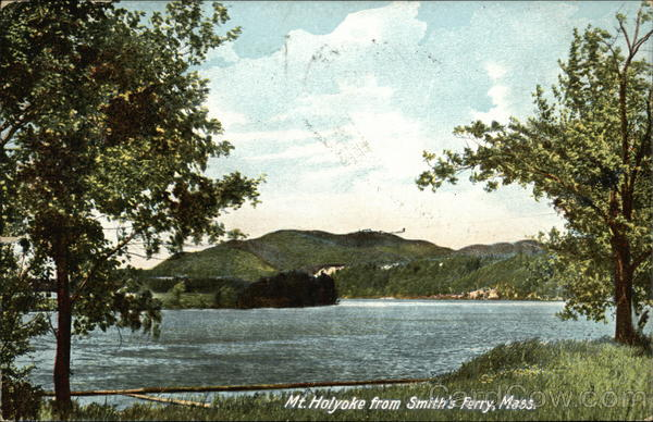Mt. Holyoke from Smith's Ferry Massachusetts