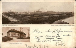 Lackawanna Steel Co. Plant and Office Building Postcard