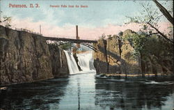 Passaic Falls from the Basin