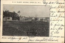 M.M. Palmer, Gayhead, Green Co., N.Y