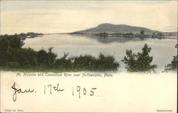 Mt Holyoke and Connecticut River