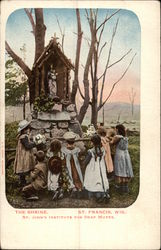 The Shrine at St. John's Institute for the Dear Mutes Postcard