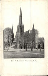 First M. E. Church and Grounds
