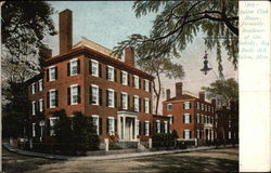 Salem Club House, Formally Residence of General Peabody, Esq. - Built 1818