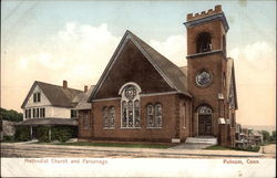 Street View of Methodist Church and Parsonage