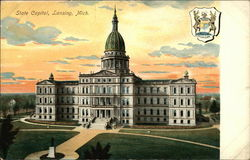 State Capitol and State Emblem