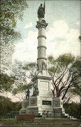Soldiers Monument in Boston Common
