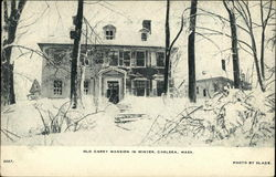 Old Carey Mansion in Winter