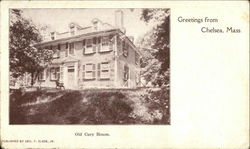 Greetings - Old Cary House