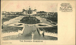 The Sunken Gardens Postcard