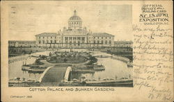 Cotton Palace and Sunken Gardens