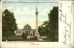 Simmons Memorial Library & Monument