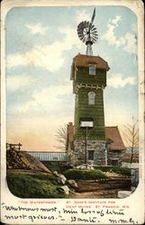 St. John's Institute for Deaf Mutes - The Watertower Postcard
