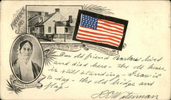 Barbara Fritchie, Flag and House
