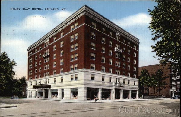 The Henry Clay Hotel Ashland Kentucky