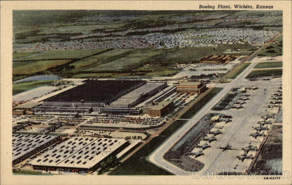 Boeing Plant Wichita Kansas