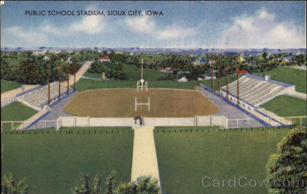 Public School Stadium Sioux City Iowa