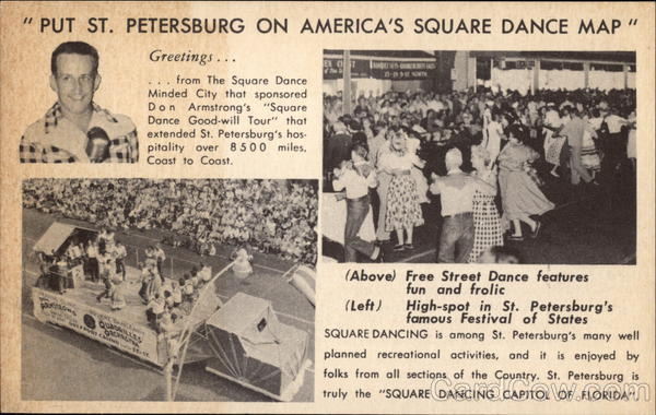 Put St. Petersburg on America's Square Dance Map Florida