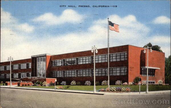 City Hall Fresno Ca