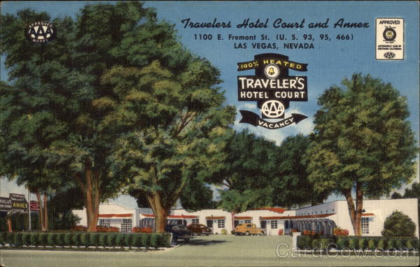 Travelers Hotel Court and Annex Las Vegas Nevada