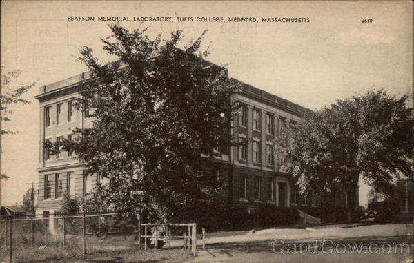 Pearson Memorial Laboratory at Tufts College Medford Massachusetts