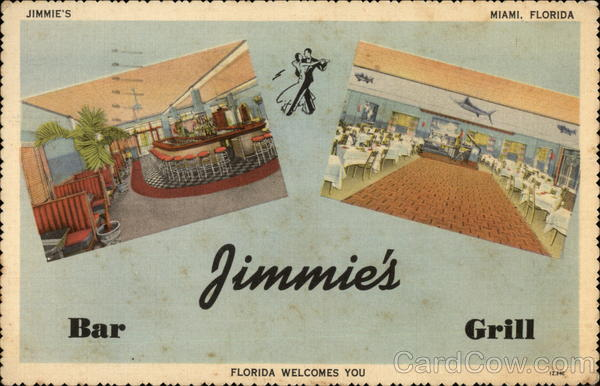 Jimmie's Bar, Liquor Store and Grill Miami Florida