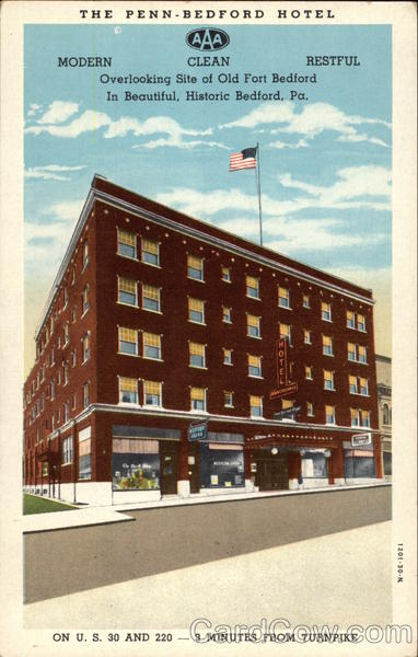 The Penn-Bedford Hotel Pennsylvania