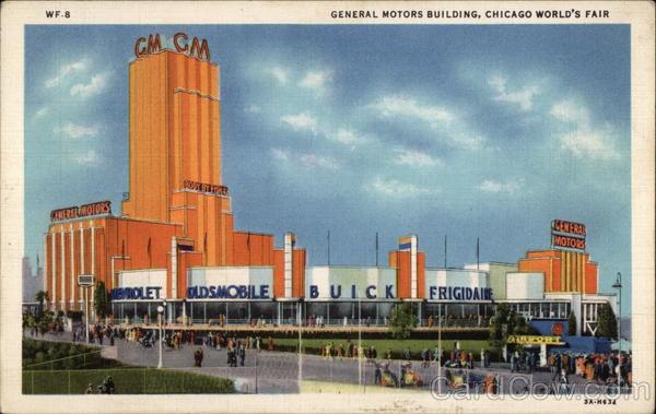 General Motors Building 1933 Chicago World Fair