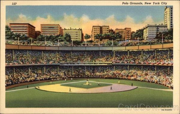 Polo Grounds New York City Baseball